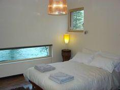 Bedroom, The Cube, River L'Ignon, Burgundy, France