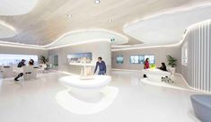 greenland centre display suite by LAVA + PTW architects, sydney, australia