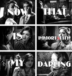 Now that is immortality, my darling #PLLBlackandWhite