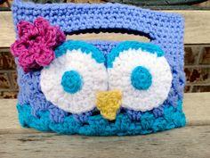 Crochet Lil Girl Owl Purse by MadebyMTL on Etsy, $13.50