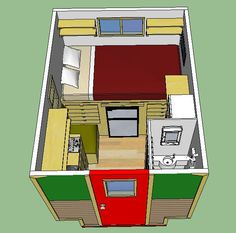 worlds smallest house on wheels gypsy wagon simple solar homesteading - Smallest House In The World 2014