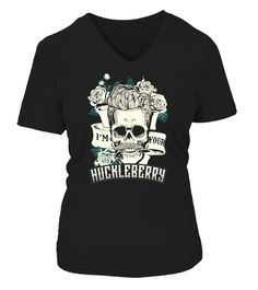 # [2 Sides] Huckleberry - Say When [Blue] .  ***PREMIUM EDITION***  BLUE Version - PRINTED ON BOTH SIDES!  Love to change Front side to Back side?Click here >>http://www.teezily.com/tomb-swhk-blue   Other Editions is Only Printed on 1 Side:  1/ [Front] I'm Your  Huckleberry:http://www.teezily.com/tomb-hk-blue   2/ [Front] Say When:http://www.teezily.com/tomb-sw-blue   3/ [Back] Huckleberry >>http://www.teezily.com/tomb-hk-blue2   4/ [Back] Say…