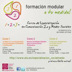 Curso de Especialización en Comunicación 2.0 y Redes Sociales UHU