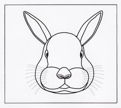 How to Draw a Bunny Face | HOW TO DRAW A RABBIT FACE IN MS WORD