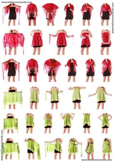 Pareos falda transformables multiusos - Instructions : How to wear Skirts More Source by BiblioVerg - Vestido Convertible, Convertible Clothing, Skirt Fashion, Diy Fashion, Fashion Beauty, Fashion Design, Infinity Dress, Silk Wrap, Diy Dress
