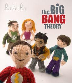 The Big Bang Theory Tribute by Lalala Toys , via Behance OHHHH MYYY GOOOOODD~ SO CUTE!~
