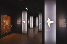 Maharaja - V&A — Mowat and Company Exhibition Display, Museum Exhibition, Exhibition Space, Display Design, Booth Design, Design Museum, Exhibit Design, Museum Displays, 3d Texture