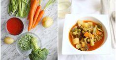 Menestra de verduras, ¡con caldito!