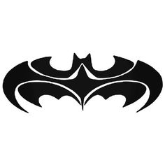 Batman Emblem 4 Decal Sticker