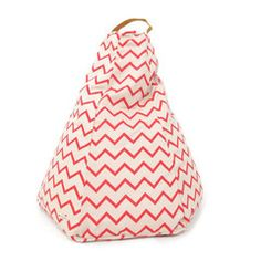 Nobodinoz Sitzsack Zigzag Pink