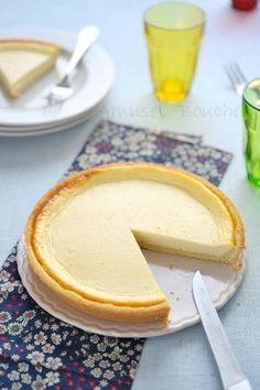 Tarte fromage blanc et citron chez Amuses Bouche
