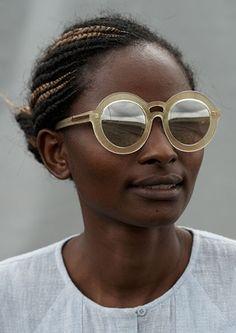 afrikani:  Sunglass designer Karen Walker's ads for the S/S2014...