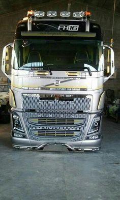 Dont forget to share and add your friends :) Volvo Trucks, Mack Trucks, Big Rig Trucks, Semi Trucks, Mercedes Truck, Truck Paint, Road Train, Diesel, Heavy Truck