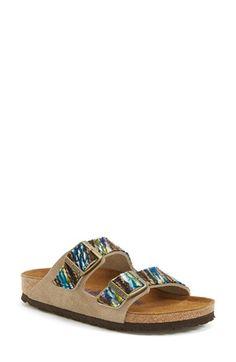 Women's Birkenstock 'Arizona' Soft Footbed Suede Sandal, 1 heel from Nordstrom on Catalog Spree Birkenstock Sandals Outfit, Birkenstock Florida, Birkenstock Arizona, Suede Sandals, Birkenstocks, Nordstrom, Barefoot, Fall Outfits, Footwear