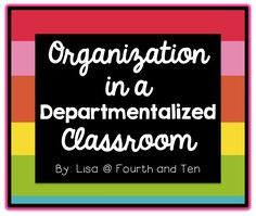 tips for organizing an ELA classroom that is departmentalized 5th Grade Classroom, Classroom Jobs, Science Classroom, Classroom Management, Classroom Setup, Classroom Resources, 5th Grade Science, 4th Grade Math, Third Grade