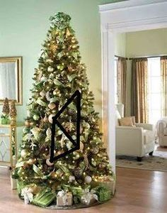 10 simple steps to creating the perfect christmas tree, christmas decorations, crafts, how to, seasonal holiday decor, source