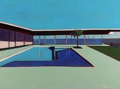 Posts about richard diebenkorn written by Urban Landscape, Abstract Landscape, Abstract Art, Richard Diebenkorn, David Hockney Paintings, Ocean Park, American Modern, Retro Art, Installation Art
