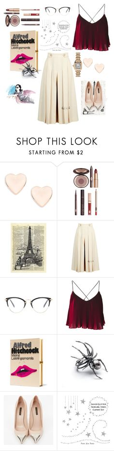 """#Idyllic rêve"" by thomassneha ❤ liked on Polyvore featuring Ted Baker, Charlotte Tilbury, Gucci, Miu Miu, Olympia Le-Tan, Louis Vuitton, Cartier and Characterization"