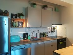Knoxhult GREY kitchen Ikea #knoxhult #ikea #grey #kitchen
