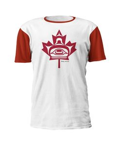 'Maple Leaf'Art T-Shirt - Andy Everson