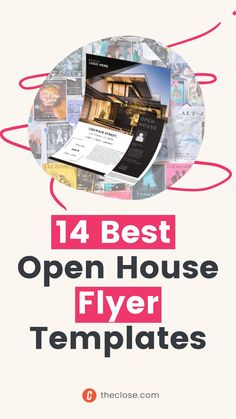 Finding great open house flyer templates online is a bit like online dating: You have to sift through a lot of losers to find something that matches your personal brand. Fun for some, but most agents we know would rather get a root canal. That's why we put together this list of open house flyer templates that not only look nice enough to impress your homeowner (or listing agent, for you newbies), but will actually make your phone ring. House Template, Flyer Template, Modern Condo, Root Canal, House Prices, Real Estate Marketing, Traditional House, Personal Branding, Online Dating