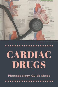 Cardiac Drugs Pharmacology - Nursing Meme - A quick and SHORT overview of the major adult cardiac/ACLS drugs! Cardiac Nursing, Pharmacology Nursing, Nursing School Notes, Nursing Schools, Nursing Classes, Np School, Nursing Tips, Funny Nursing, Nursing Student Tips