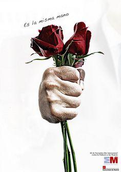 Propuesta para campaña del día internacional contra la violencia de género. Diseño & Creatividad: De Leo®