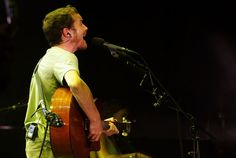 Damien Rice Photos Photos - Musician Damien Rice performs on the Outdoor Stage during day 3 of the Coachella Music Festival held at the Empire Polo Field on April 29, 2007 in Indio, California. - Coachella Music Festival - Day 3
