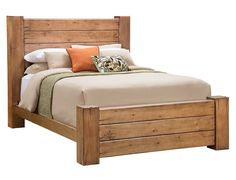 Slumberland | Maverick Collection - Driftwood King Bedstead
