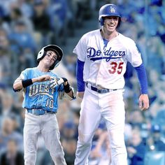 Cody:Then&Now⚾💯This is the best pic ever Dodgers Girl, Dodgers Fan, Dodgers Baseball, Baseball Players, Dodgers Party, Baseball Guys, Mlb Players, Softball, Cody Love