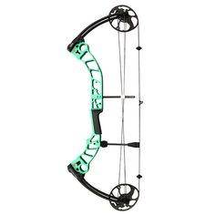 Improve your archery skills with this amazing SAS Destroyer compound bow. The attractive green bow features a CNC machined riser for optimal performance and accuracy. Type: Compounds Material: Aluminu