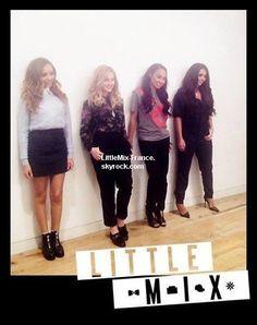 *  21/11/2013 : Little Mix ont été interviewé par le magasine Fan 2