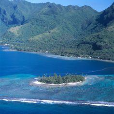 Motu Ahi, Moorea, French Polynesia