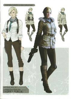 Game Character, Character Concept, Concept Art, Character Design, Game Concept, Cosplay, Resident Evil Collection, Resident Evil Girl, Leon S Kennedy