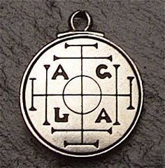 An extremely potent magical talisman since medieval times, this symbol has been used to assure wealth and success for millennia. The design consists of four protective crosses guarding the four cardinal points. These symbols combine to assure the bearer success and money: