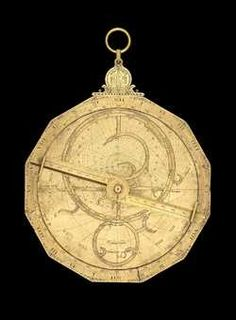 astrolabe, inventory number 37297 from Germany, ca. 1585