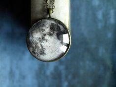 moon pendant via ShoShannaArt