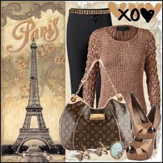 """Paris From A PostCard"" by jacque-reid on Polyvore"