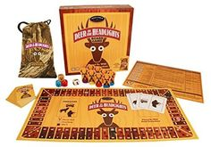 44.99 Deer in the Headlights Board Game by Front Porch Classics