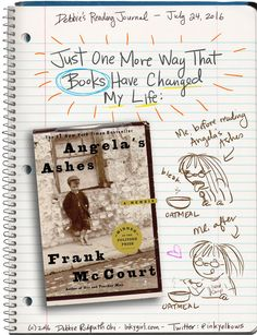 Book Journal: Just One More Way That Books Have Changed My Life - Inkygirl: Guide For Kidlit/YA Writers & Artists - via @inkyelbows