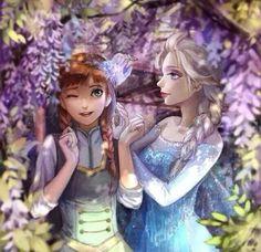 Cute Frozen art:)