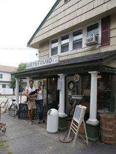 North Found & Co. - a little chic shop on the North Fork of Long Island.