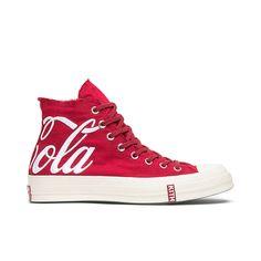 49e70e8d12 $150.00 Converse Sneakers, High Top Sneakers, Converse Chuck Taylor All Star,  Coca Cola