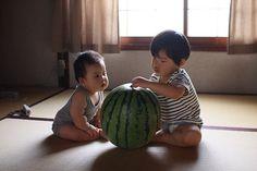 watermelon brothers - Hideaki Hamada photography