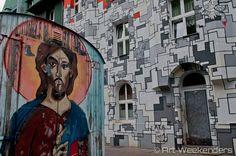 Street Art in Dusseldorf's Kiefernstrasse