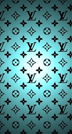 LV in blue Louis vuitton iphone wallpaper, Blue