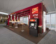 CIBC airport kiosk