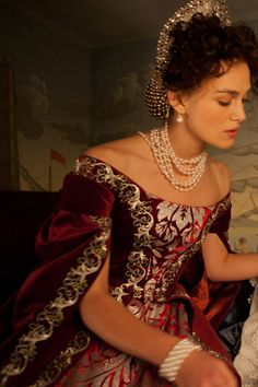 Keira Knightley costume in 'Anna Karenina', 2012. Costumes designed by Academy…