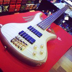 Schecter Stiletto Custom 5... Bye Bye! #schecter #schecterarmy #stiletto #custom #bass #bassline