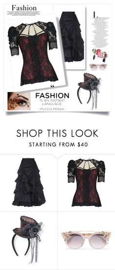 """steampunk"" by velci-987 ❤ liked on Polyvore featuring Jimmy Choo"